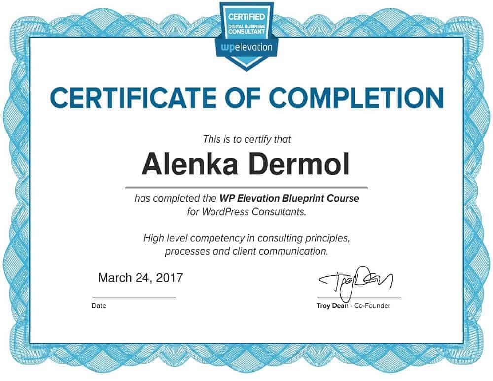 02-WPE-Blueprint-Certificate-Alenka-Dermol