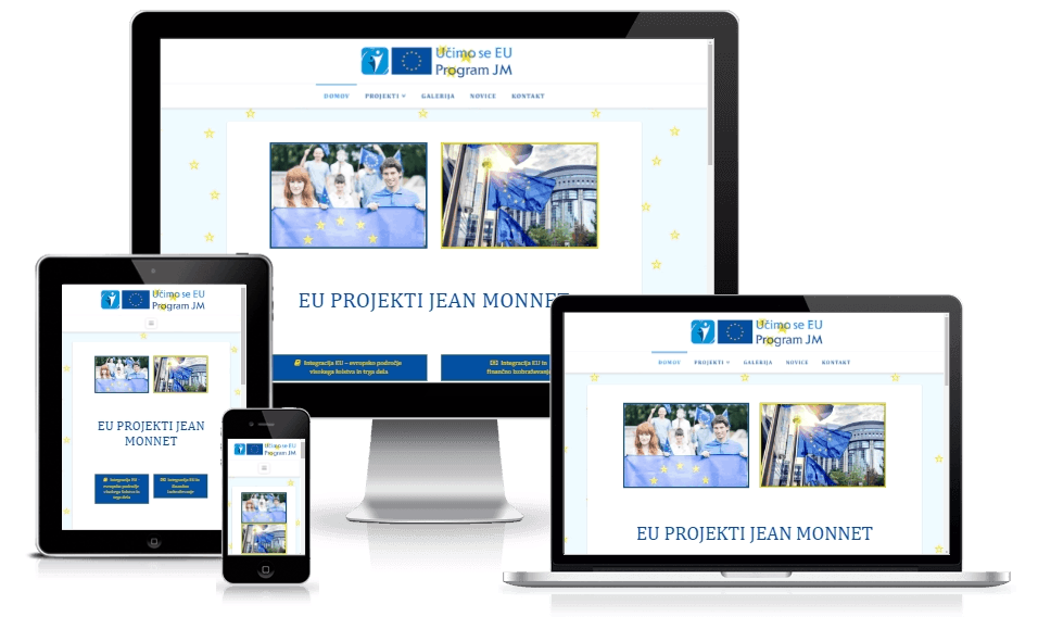 learn-eu.net screenshot for portfolio
