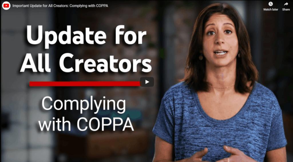 COPPA obrazložitev