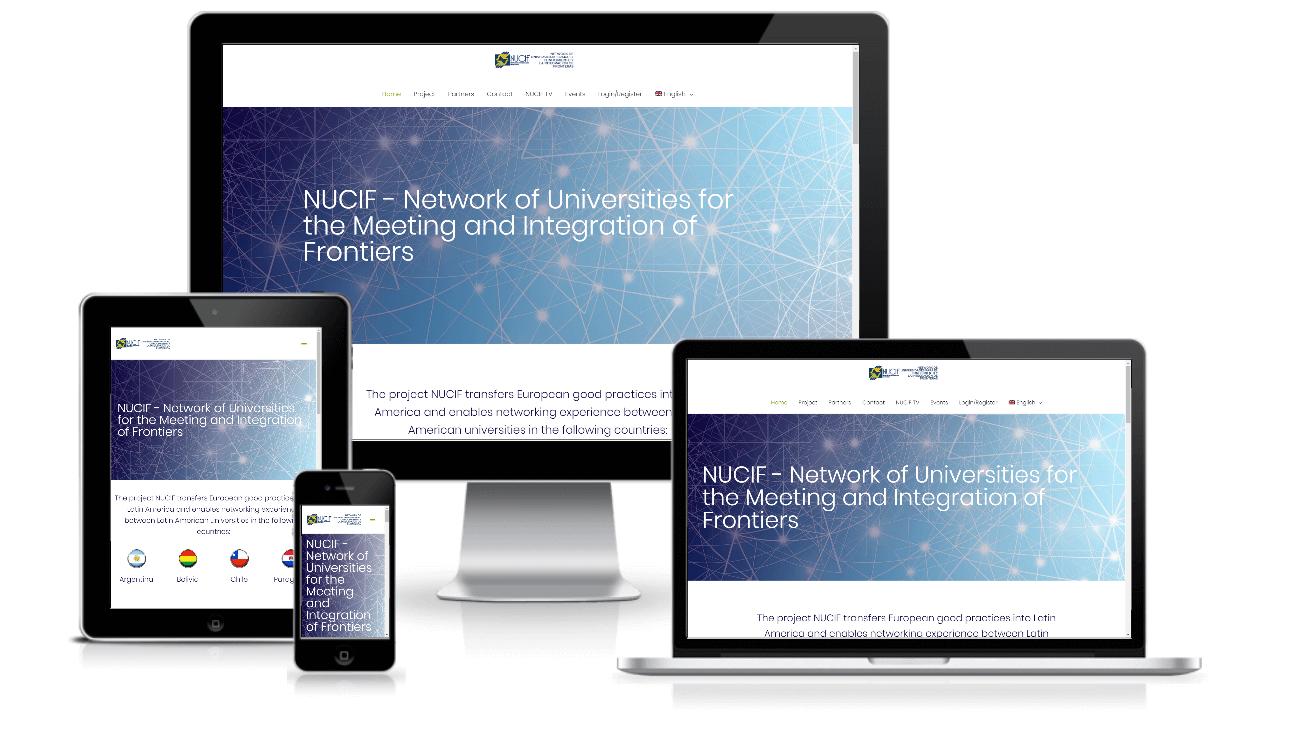 nucif.net screenshot portfolio item