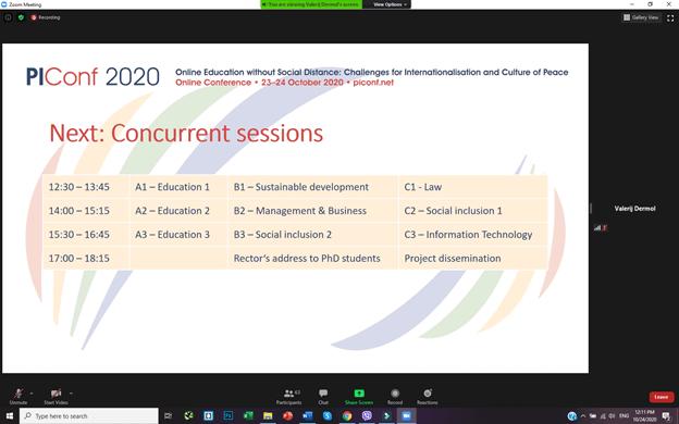 Piconf 2020 Conference - Dermol doo