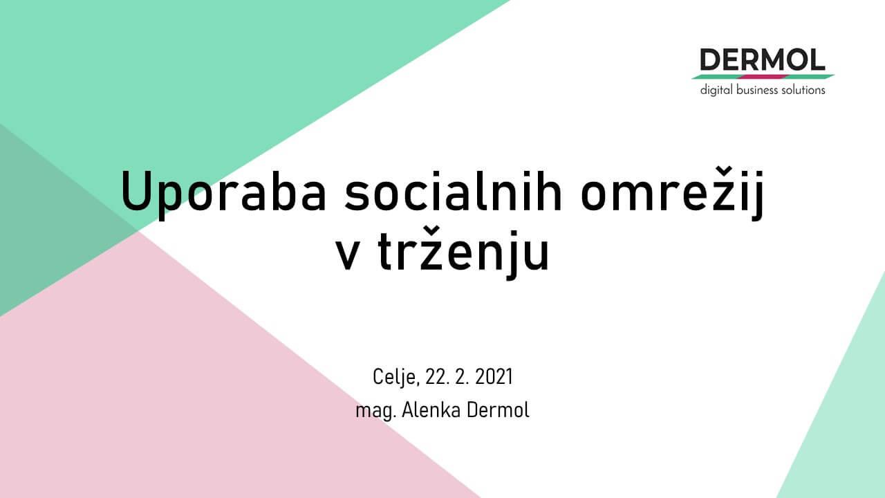 MFDPŠ delavnica socialna omrežja