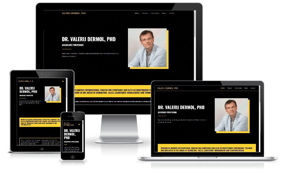 Valerij Dermol website