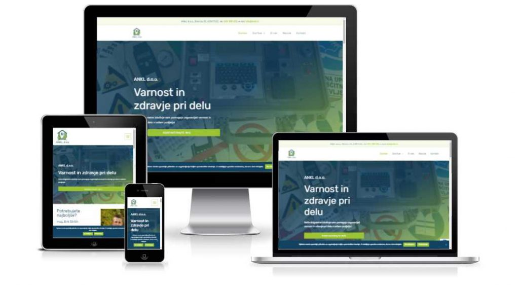 Ankl doo website portfolio item